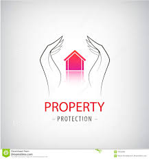 home security business symbol unique icon concept for insurance