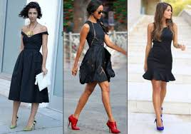 what are black dresses with pantyhose under a black dress shoes