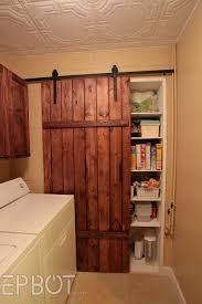 Ceiling Mount Door Track by Epbot Make Your Own Sliding Barn Door For Cheap