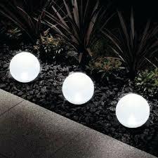 Solar Globe Lights Garden Solar Powered Outdoor Globe Lights