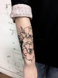 tattoo on leg for women tattoo flower arm tattoo tattoo for women nature flowers