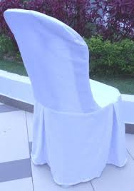 plastic chair covers banquet table