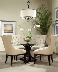 Round Glass Top Dining Room Tables by Round Glass Top Dining Room Tables Decorating Ideas Gyleshomes Com