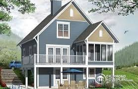 walkout house plans home plans and house designs with walkout basement from