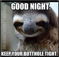 Asthma Sloth Meme - nobody panic