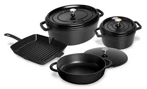staub black friday staub cookware set 7 piece matte black cutlery and more