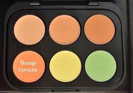 3 easy steps to banish under eye circles with an orange corrector