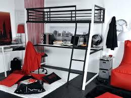 bureau lit mezzanine lit metal noir bureau metal noir lit mezzanine metal 2 places lit