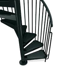 Spiral Staircase by Shop Arke Civik 55 In X 10 Ft Black Spiral Staircase Kit At Lowes Com