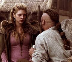 how to do hair like lagatha lothbrok lagertha and ragnar costume research vikings pinterest