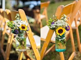 sunflower wedding decorations beautiful flowers and unique sunflower wedding decorating ideas