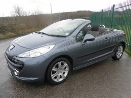 peugeot cabriolet 2007 peugeot 207 sport coupe cabriolet hdi 3 995
