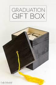 graduation gift for diy graduation gift box tutorial crafts unleashed