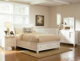 Queen Size Platform Bed Sandy Beach White Queen Size Platform Bed With Storage Drawers