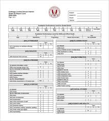 report card template progress report card templates 21 free printable word pdf psd