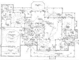 house electrical wiring floor plan besides restaurant house