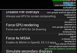 android cpu usage a detailed introduction to the developers options on android