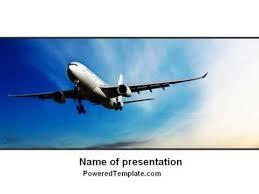 modern plane powerpoint template by poweredtemplate com youtube