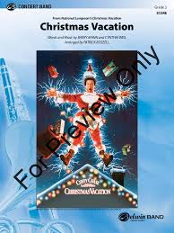 christmas vacation arr patrick roszell j w pepper sheet music