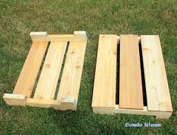 How To Build A Planter by Condo Blues How To Make A Self Watering Planter Box