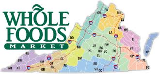 virginia state parks map va only excl whole foods virginia state parks