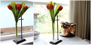 kmart home decor test tube vase tulips flowers u2013 a style collector