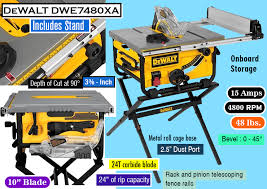dewalt 10 portable table saw best portable table saw everything you need to know