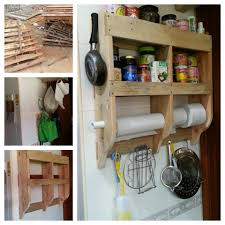 Pallet Kitchen Furniture Diy Kitchen Shelf With Wood Pallets Pallet Ideas Recycled