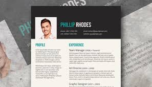 Free Design Resume Templates Creative Cv Template Giveaway Shades Of Orange
