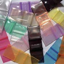 mini plastic zip bags 1212 1000 baggies 10 color mix