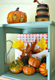 sunny simple life fall farmhouse kitchen decorating ideas