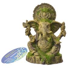 blue ribbon pet products environments ganesha statue with