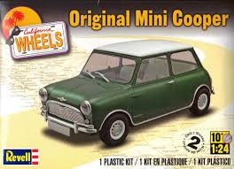 revell california review original mini cooper california wheels series ipms usa