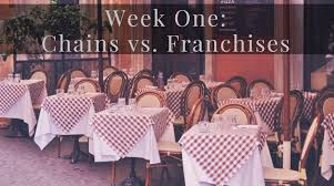 five things to consider before franchising your restaurant week