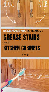 best way to get sticky grease kitchen cabinets mix to remove grease stains from kitchen cabinets