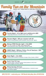 lift ticket prices nordic valley ski resort
