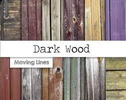 wood fence wallpaper etsy