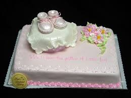 walmart bakery baby shower cakes pink baby booties projects to