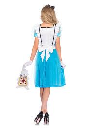 white rabbit halloween costume women u0027s classic alice tea length costume