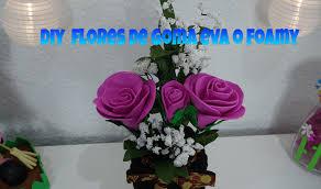 flores de foamy creactívate con mari