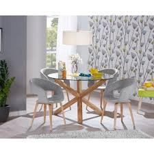 mesa de comedor saskia redonda muebles jysk proyecto m