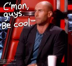 Shaved Head Meme - adam levine debuted his shaved head on the voice blake shelton