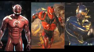 injustice 2 flash all costumes new gear weapons u0026 color