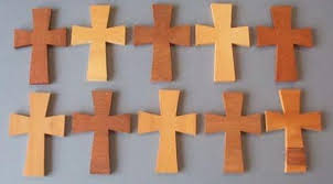 small wood crosses wooden crosses sanded packs for presentations baptisms and