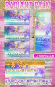 49 best makeup spray tan etc business cards u0026 flyers images on