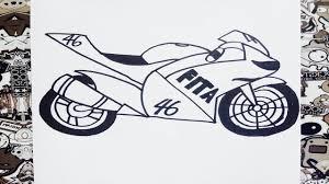 imagenes de ferraris para dibujar faciles como dibujar una moto how to draw bike como desenhar uma moto