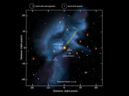Solar System Map Milky Way And Our Location Nasa