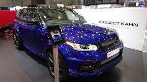 kahn land rover 2016 kahn range rover f pace exterior and interior geneva