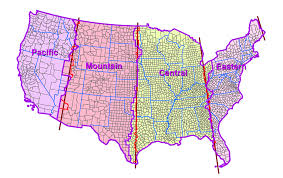Illinois Time Zone Map by Nick U0027s Weather Blog Why Current Thinking About Time Zones Is
