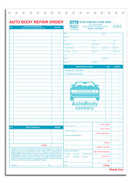 Estimate Work For Car by Automotive Forms Appleforms Gallery